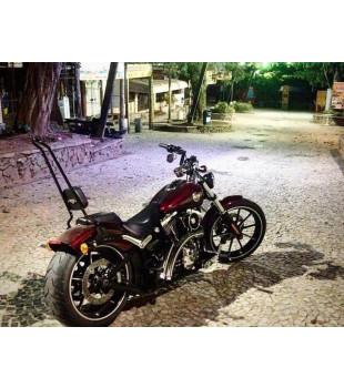 Sissy Bar Destacável King sem Bagageiro, 30 pol. - Harley-Davidson Breakout - Preto