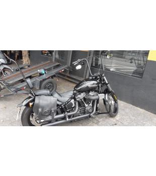 Guidão Ape Hanger Classic Robust - Para Harley-Davidson  Softail Classic - 08 a 18 polegadas - Preto