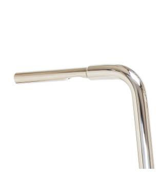 Guidão Ape Hanger Classic Robust - Para Harley-Davidson Softail Slim - 08 a 18 polegadas - Inox Polido