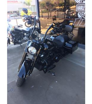 Guidão Diablo Classic Robust - Harley-Davidson Softail Deluxe de 08 à 18 polegadas - Preto