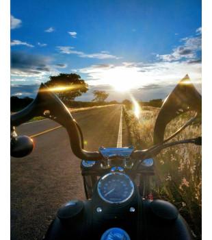 Guidão Diablo Classic Robust - Linha Harley-Davidson Sportster - 08 a 18 polegadas - Preto