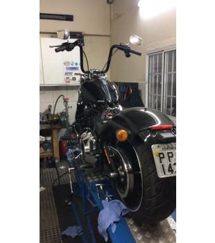 Guidão Ape Hanger Classic Robust - Harley Davidson Breakout - 08 a 18 polegadas - Preto