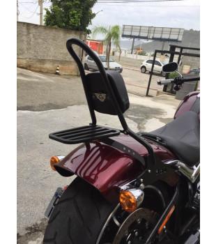 Sissy Bar Destacável King com Bagageiro, 20 Pol. Harley-Davidson Breakout - Preto