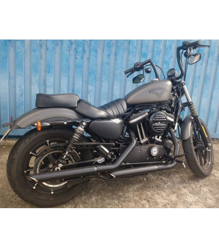 Guidão King Classic Robust - Harley-Davidson Softail Standard - 08 a 18 polegadas - Preto