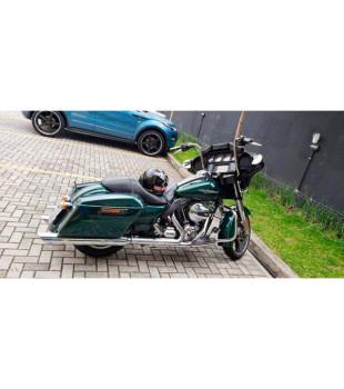Guidão Ape Hanger Classic Robust - Harley-Davidson Street Glide - 08 a 18 polegadas - Inox Polido