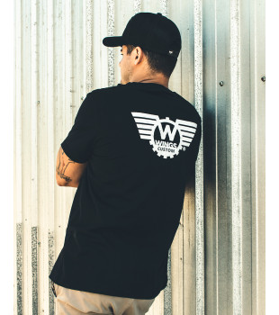 T-Shirt Black Wings