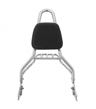 Sissy Bar Destacável King com Bagageiro, 20 pol. Harley-Davidson Night Train - Inox Polido