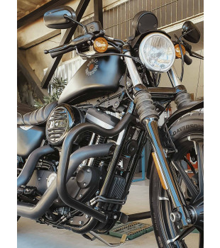 Protetor de Motor Classic - Harley Davidson Sportster - Preto