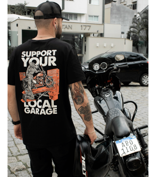 T-Shirt Support Your Local - Wings Custom