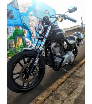 Protetor de Motor King Robust - Harley Davidson Dyna - Preto