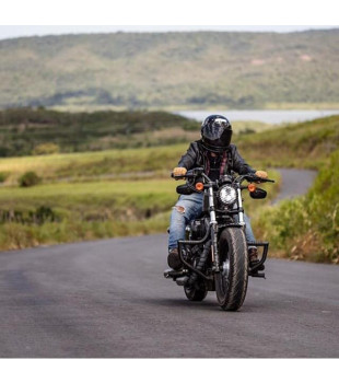 Protetor de Motor King - Linha Harley-Davidson Sportster - Preto