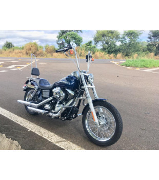 Protetor de Motor King Robust - Harley Davidson Dyna - Inox Polido
