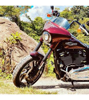 Guidão Ape Hanger Classic Robust - Harley Davidson Sport Glide - 08 a 18 polegadas - Preto
