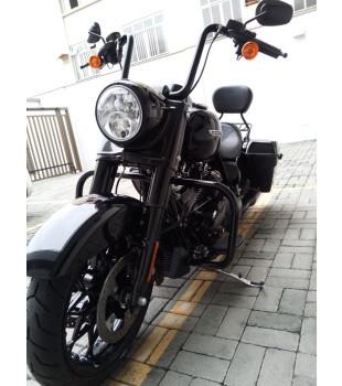 Guidão Ape Hanger Classic Robust - Para Harley-Davidson Road King - 08 a 18 polegadas - Preto