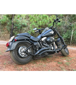 Protetor de Motor Classic - Harley Davidson Fat Boy - Preto