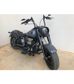 Protetor de Motor King Robust - Harley-Davidson Fat Boy - Preto