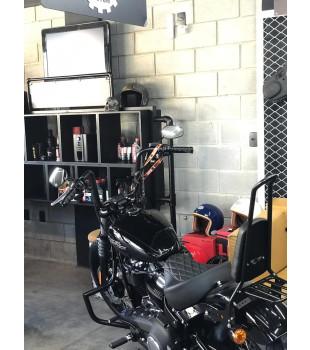 Guidão Ape Hanger Classic Robust - Para Harley-Davidson Softail Street Bob - 08 a 18 polegadas - Preto