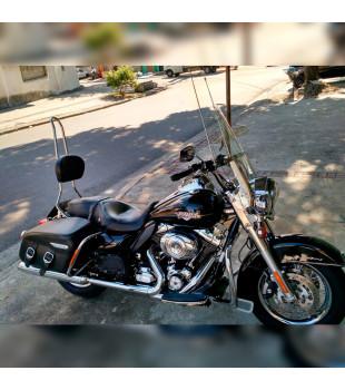 Sissy Bar Destacável King Confort - Harley-Davison Linha Touring- 30 polegadas- Inox Polido