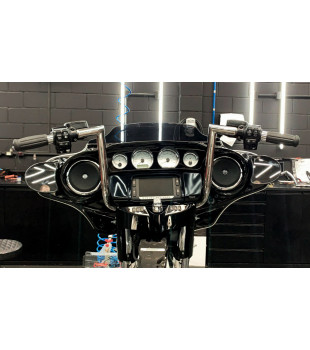 Guidão King Classic Robust - Harley-Davidson CVO Street Glide - 08 a 18 polegadas - Inox Polido