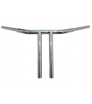 Guidão T-Bar Robust, 8 a 18 polegadas - Shadow 600 - Inox Polido